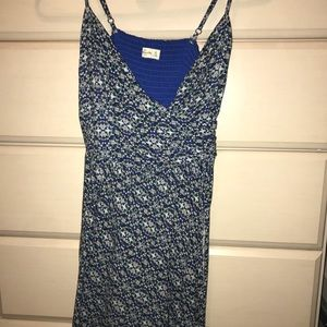XS Abercrombie and Fitch patterned skater dress